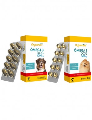 Organnact Ômega 3 Dog Blister