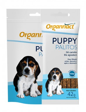 Petisco Organnact Pet Palito Puppy