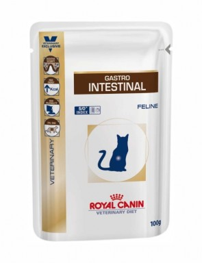 Ração Royal Canin Feline Veterinary Diet Gastro Intestinal Sachê - 100 Gr