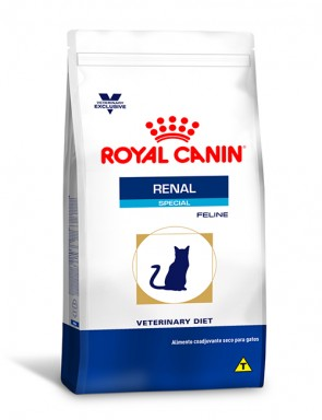 Ração Royal Canin Feline Veterinary Diet Renal Special para Gatos