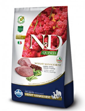 Ração Farmina N&D Quinoa Adult Weight Management 2,5kg
